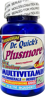 Dr Quick's  Plusmore Multivitamin